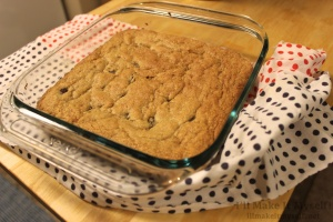 Peanut-Butter Chocolate-Chip Brownies | I'll Make It Myself! 2