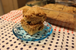 Peanut-Butter Chocolate-Chip Brownies   I'll Make It Myself! 3