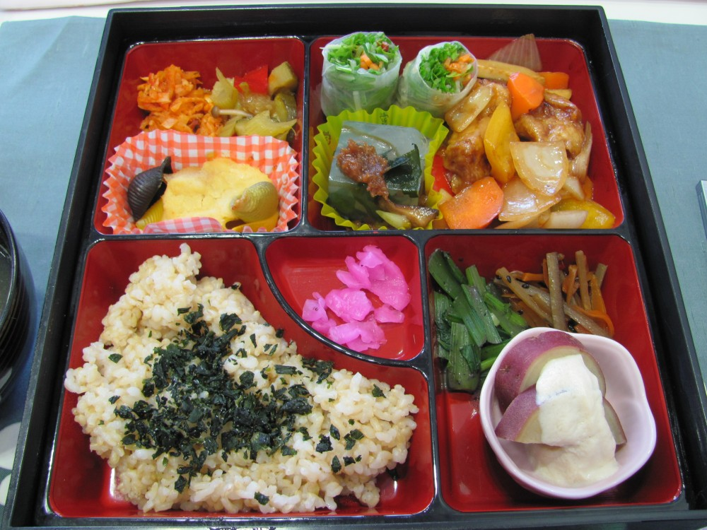 Vegan Bento from Earth Cafe @ I'll Make It Myself