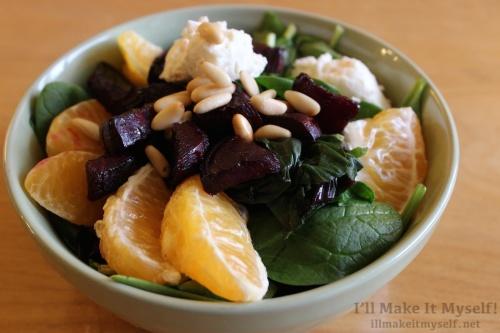 Roasted Beet Salad | I'll Make It Myself!