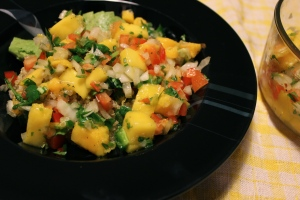 Easy Mango Salsa @ I'll Make It Myself