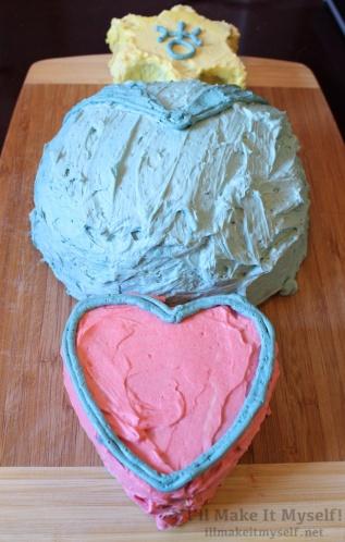 Sailor Uranus Cake | I'll Make It Myself! 3