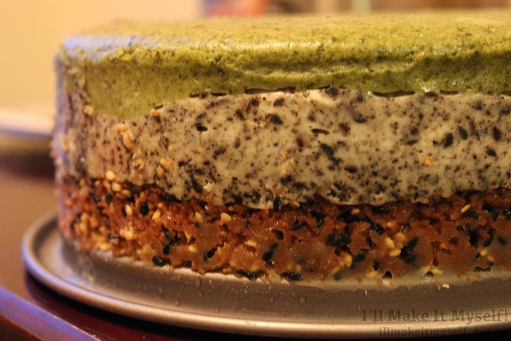 Matcha Black Sesame Cheesecake I Ll Make It Myself 1