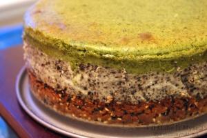 Matcha-Black Sesame Cheesecake   I'll Make It Myself! 2