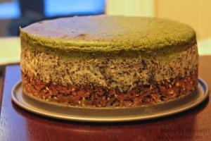 Matcha-Black Sesame Cheesecake   I'll Make It Myself! 3