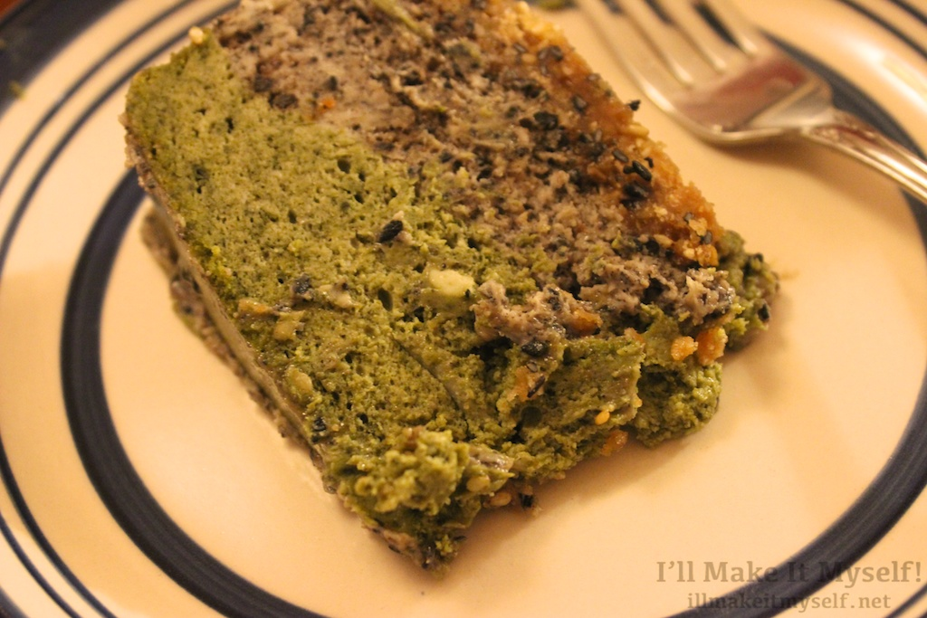 Layered Matcha Cake
