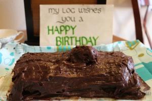Twin Peaks Log Cake   I'll Make It Myself! 3