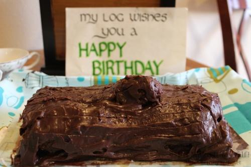 Twin Peaks Log Cake | I'll Make It Myself! 3