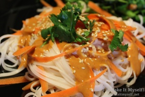 Carrot-Rice Noodle Bowl | I'll Make It Myself! 9