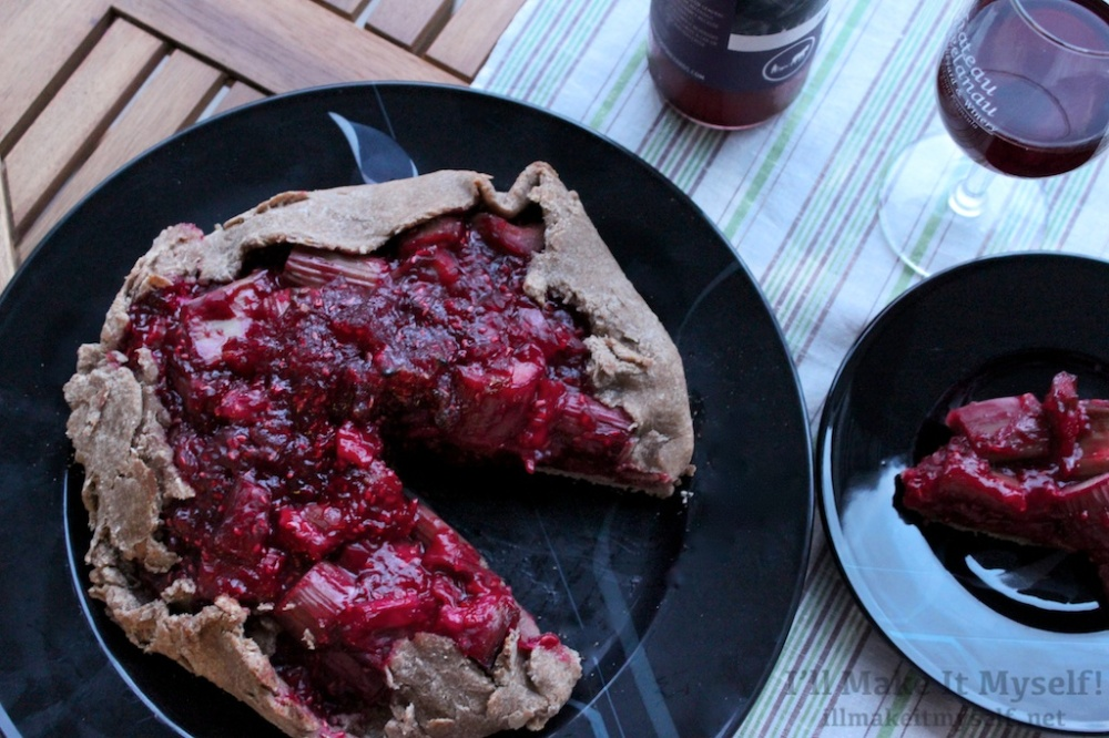Raspberry-Rhubarb Crostata | I'll Make It Myself! 1 (1)