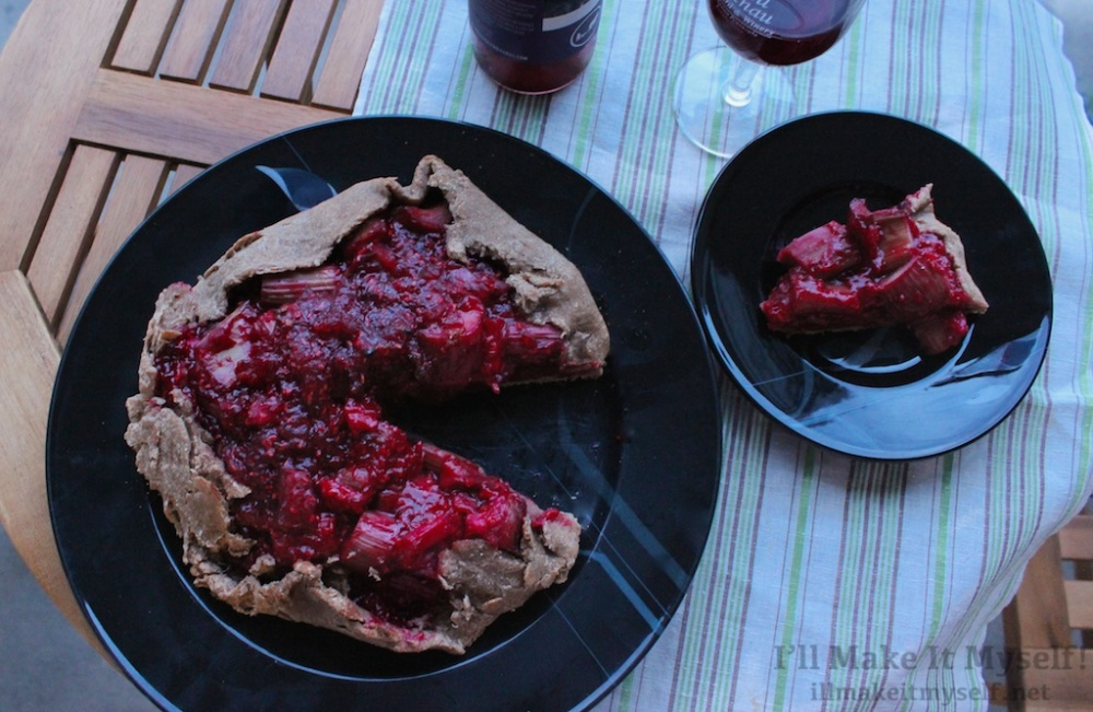 Raspberry-Rhubarb Crostata | I'll Make It Myself! 2 (1)