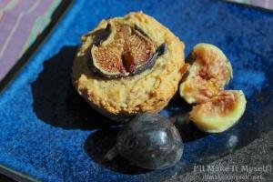Fig-Almond Muffins   I'll Make It Myself!