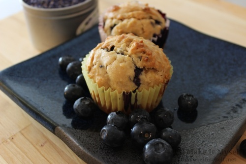 I'll Make It Myself! 1 | Lavender Blueberry Muffins