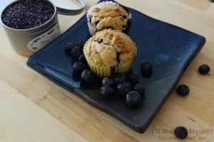 I'll Make It Myself! | Lavender Blueberry Muffins 2