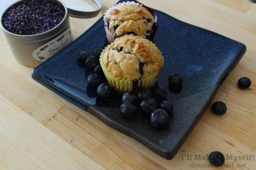 I'll Make It Myself! | Lavender Blueberry Muffins 2