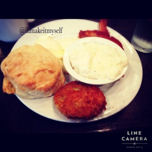Southern Breakfast at Ruby Slipper Cafe