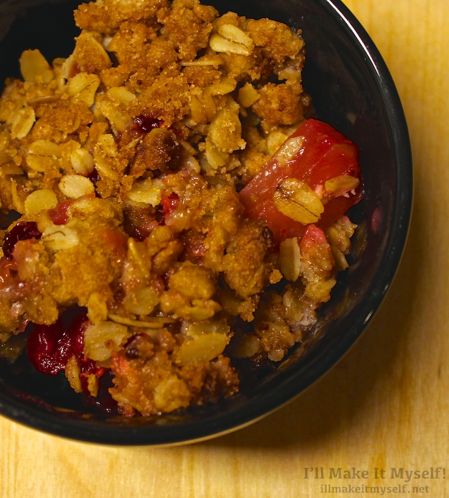 Cranberry Apple Crisp | I'll Make It Myself! 1