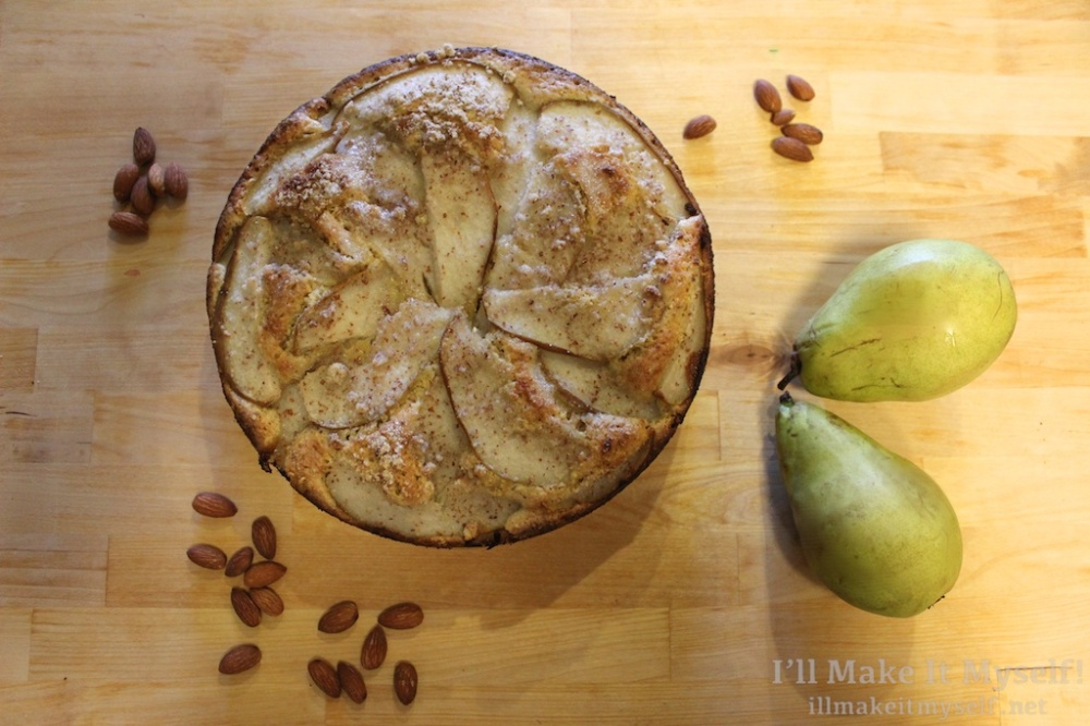 Pear-Almond Cake | I'll Make It Myself! 1