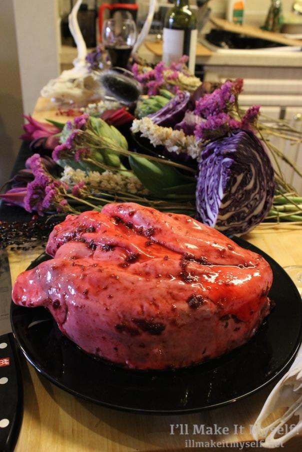 Anatomical Heart Cake | I'll Make It Myself! 8 (1)