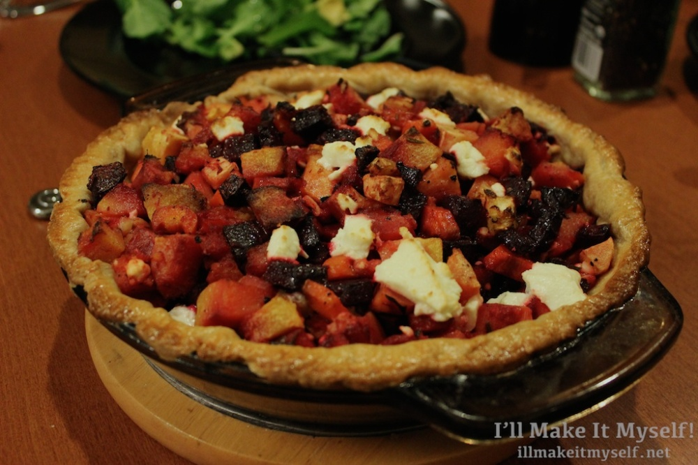 Roasted Vegetable Tart | I'll Make It Myself!