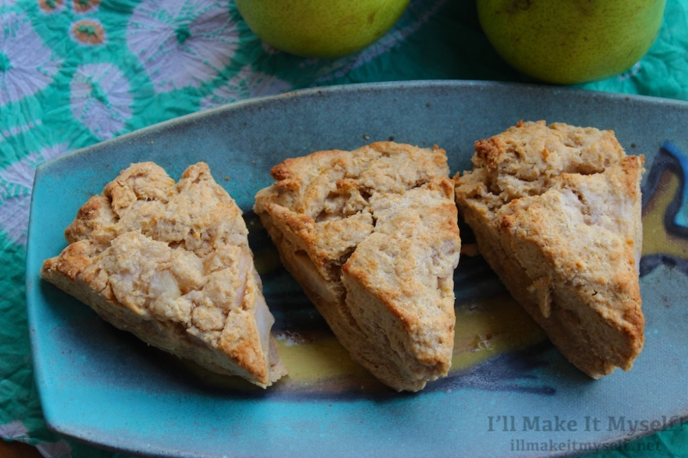 Chai-Spiced Pear Scones | I'll Make It Myself! 1