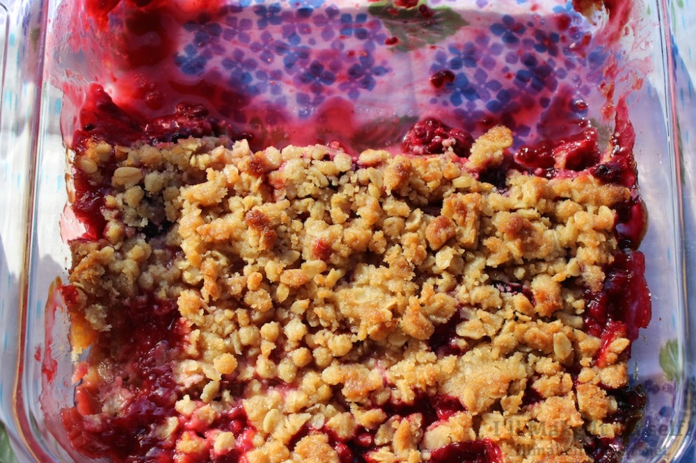 Rhubarb Berry Crisp | I'll Make It Myself! 3