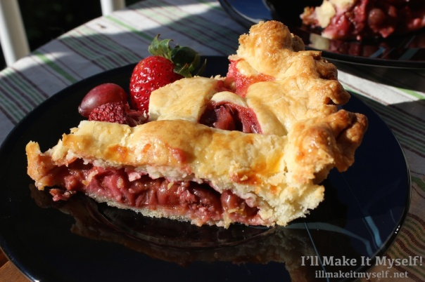 Strawberry Gooseberry Pie | I'll Make It Myself! 4 (1)