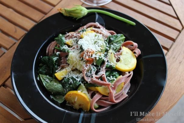 Beet Pasta w Squash | I'll Make It Myself! 2 (1)