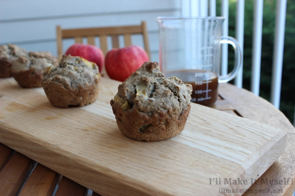 Soba Apple Muffins | I'll Make It Myself! 1