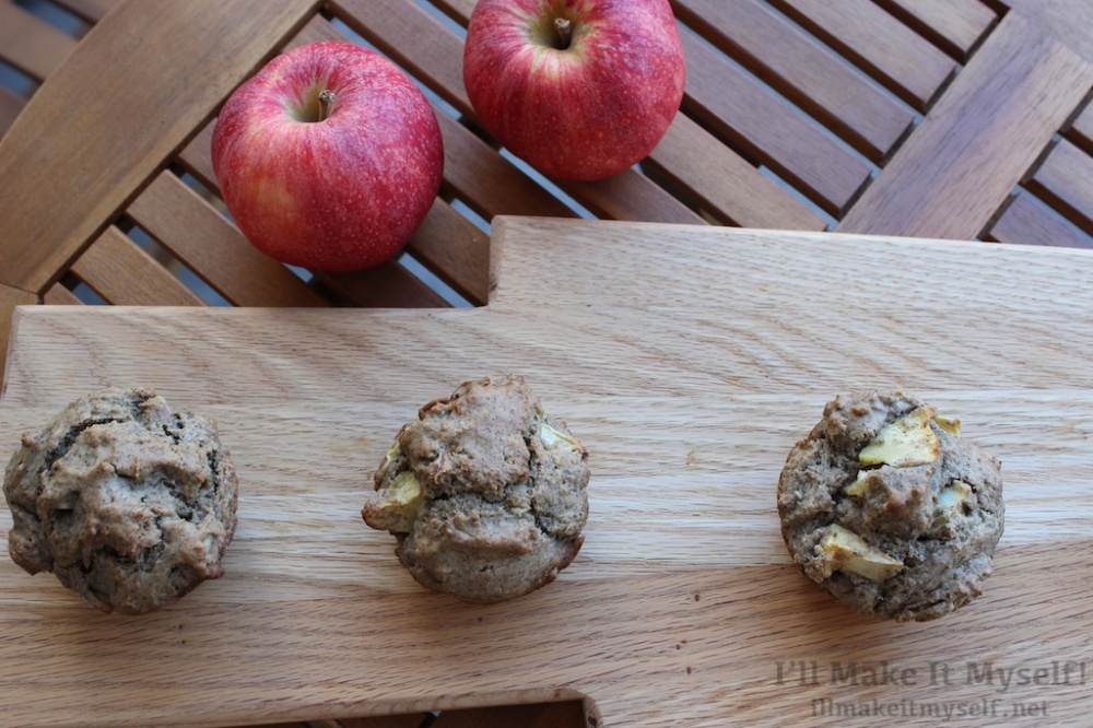 Soba Apple Muffins | I'll Make It Myself! 2