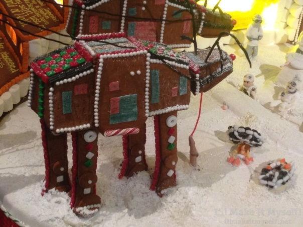 Episode  5: AT-AT Walkers made of gingerbread