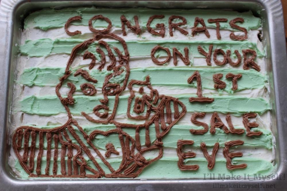 80s Businesswoman Cake | I'll Make It Myself! 1