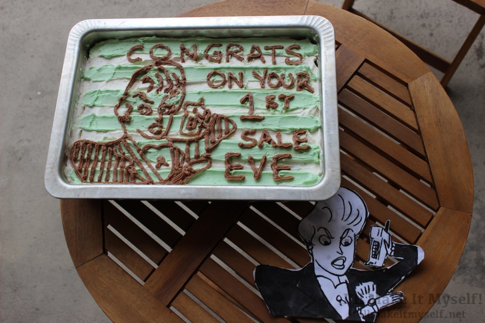 80s Businesswoman Cake | I'll Make It Myself! 2
