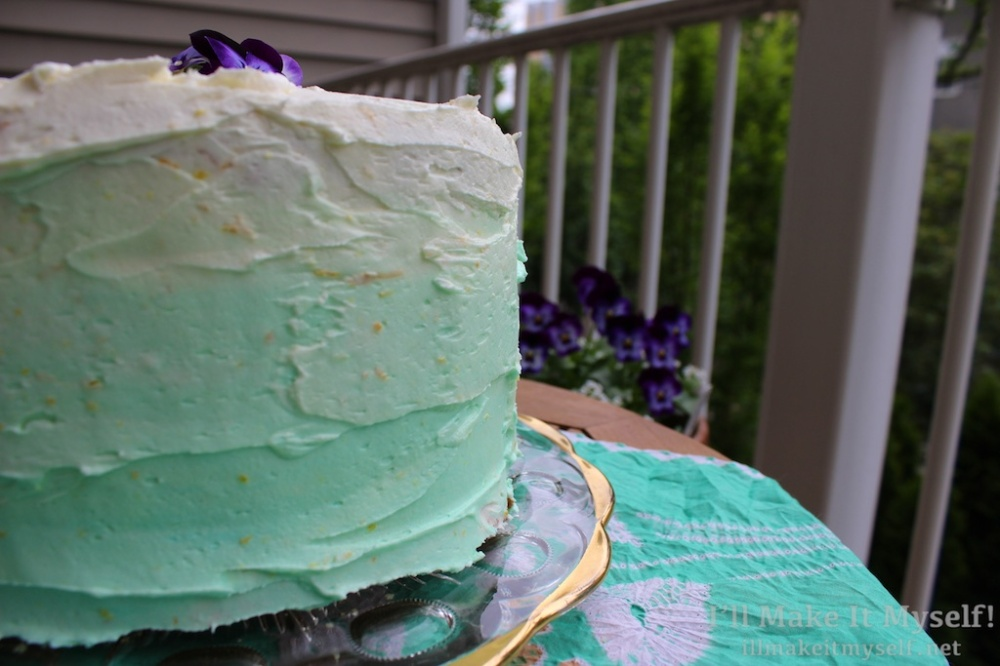 Great Book Larder Bake Off Watercolor Layer Cake | I'll Make It Myself! 3