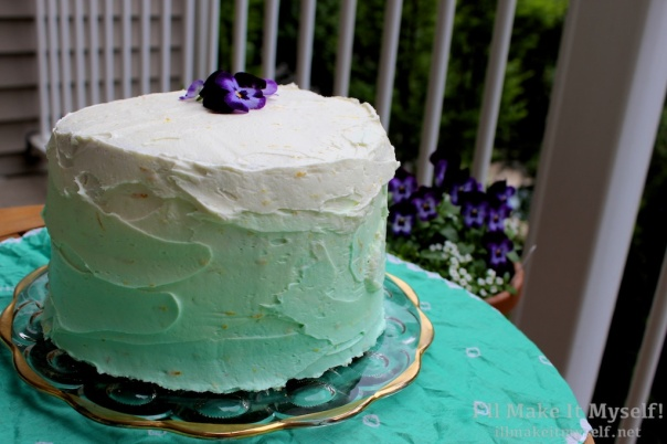 Great Book Larder Bake Off Watercolor Layer Cake | I'll Make It Myself! 4