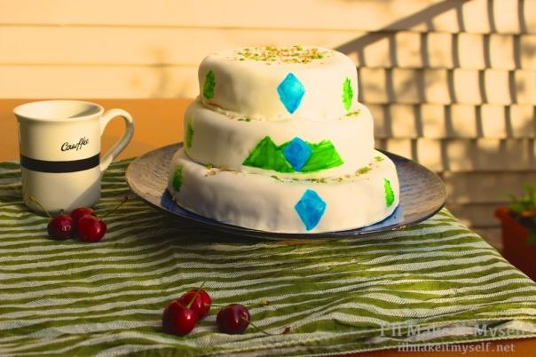 Twin Peaks Cake   I'll Make It Myself! 1