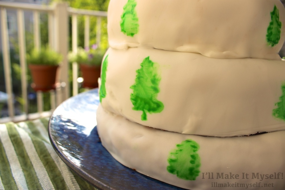 Twin Peaks Cake | I'll Make It Myself! 4