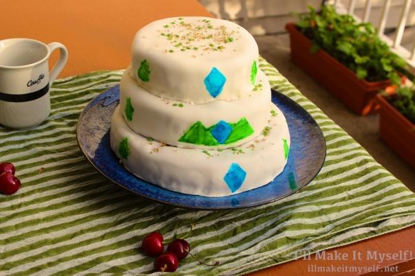 Twin Peaks Cake   I'll Make It Myself! 5