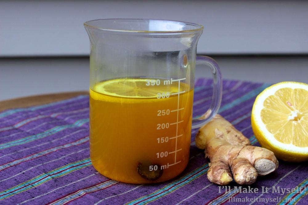 Ginger-Turmeric Tea | I'll Make It Myself! 3