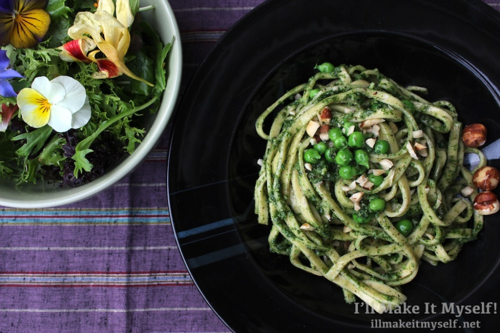 Nettle Hazelnut Pesto | I'll Make It Myself! 3