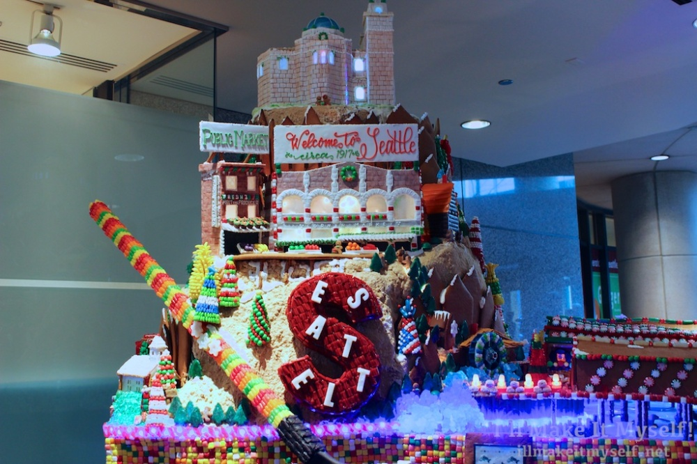 Sheraton Gingerbread Village | I'll Make It Myself! 4