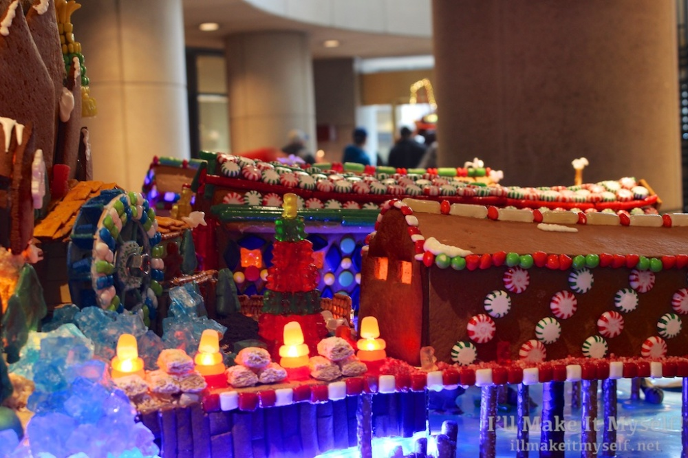 Sheraton Gingerbread Village | I'll Make It Myself! 5
