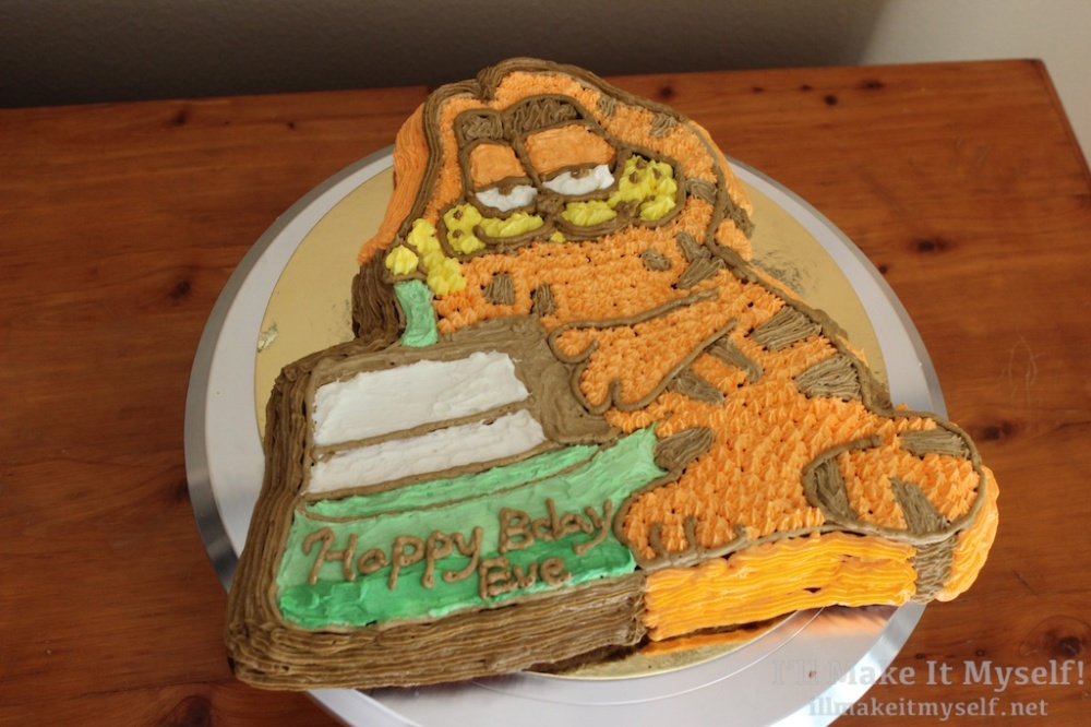 Garfield Cake | I'll Make It Myself 2