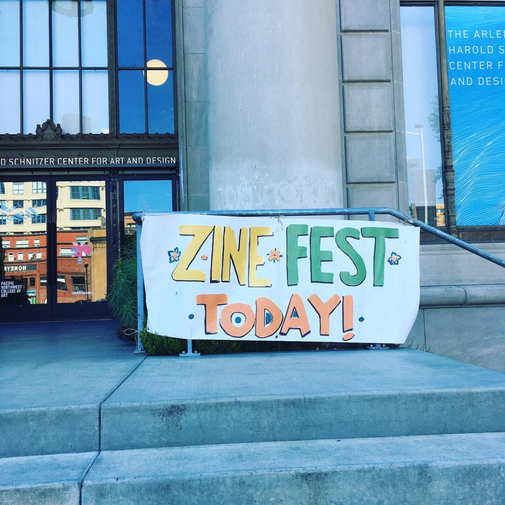 Zine Fest Today