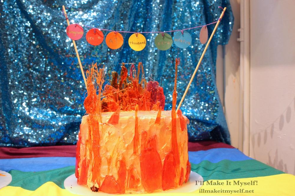 47,000 Acre Wildfire Cake 7